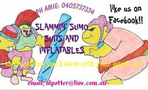 SUMO SUIT AND INFLATABLE HIRE!! BEST PRICES IN PERTH!! Henley Brook Swan Area Preview