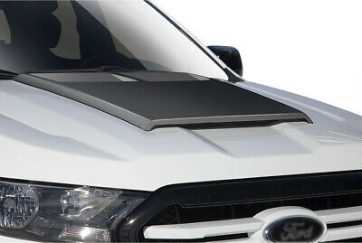 - 2019 Ford Ranger Truck Air Design Custom Style Hood Scoop Satin Black FO26A14