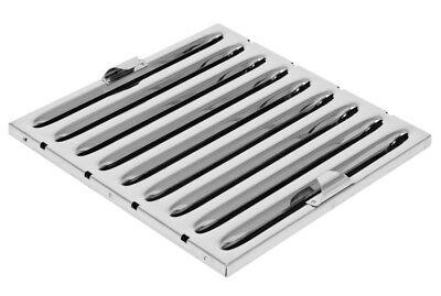 Flammschutzfilter Filter Edelstahl 500 x 500 x 20 mm Typ A