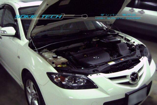 0308 Mazda3 Mazda 3 Mk1 Bk Sedan Black Strut Gas Lift Hood Shock