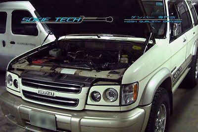 Isuzu Trooper Acura SLX SUV Black Strut Gas Lift Hood Shock Stainless Damper (Isuzu Trooper Suv)