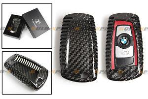 LUXURY CARBON FIBER CASE COVER FOR BMW F30 F32 F22 F10 F80 F82 KEY FOB REMOTE