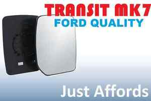FORD-TRANSIT-MIRROR-GLASS-MK7-2006-2007-2008-2009-2010-2011-DRIVERS-SIDE-OFFSIDE
