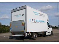 Professional man and van removals, waste, rubbish collection - Chorlton