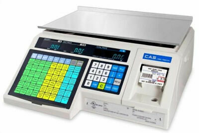 Pcamerica Scale Cas Lp1000n Label Printing Scale 30x0.01 Lbnteplegal For Trade