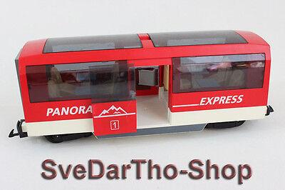 Playmobil - Panorama Express 4124 für LGB und RC Eisenbahn Personenwagen Waggon