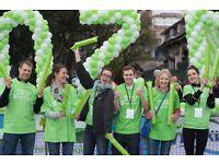 Volunteer with Barnardo's at the London Marathon 2017!