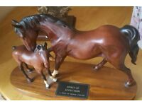 Beswick Horse and Foal - Spirit of Affection