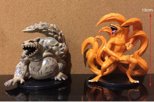 Naruto Shipuuden Kurama Shukaku Kyubi action figure 2pcs/set figure NEW No Box