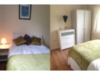 Double room,near train station/town