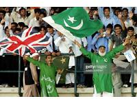eng vs pak one day international @ trent bridge @ 150 per ticket 6 available