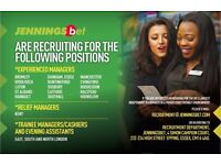 Betting Shop Managers required in Hounslow, Colindale and Southall