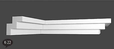 22 meter Zierleisten Styroporleisten Eckleisten Stuckleisten 40x40 mm K 22