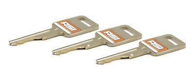 Ignition Key For Bobcat 751 753 763 773 863 873 883 963 Skid Steer Loader 3 Cut
