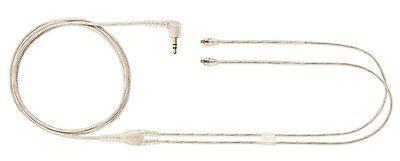 SHURE EAC64-CL Cable Cord for SE215 SE315 SE425 SE535 Headphones Earphone, Clear