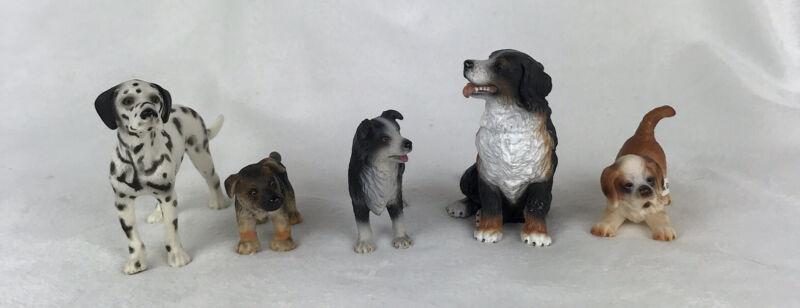 Schleich dogs set of 5