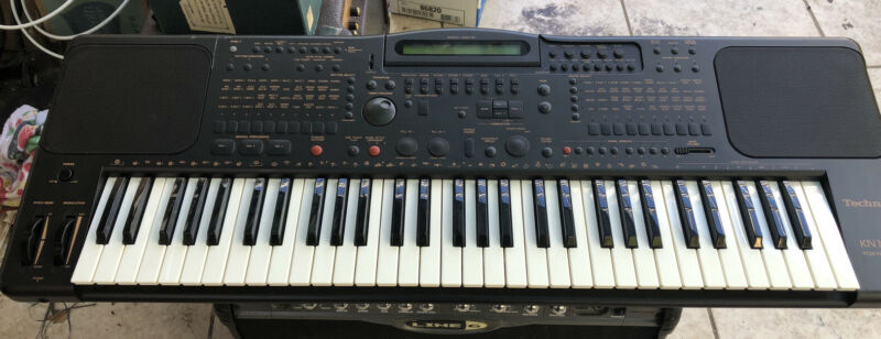 Technics Kn1000 PCM Keyboard Amazing Condition Tested Works Perfectly