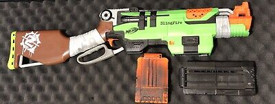 Nerf Slingfire with 2 Magazines (Tested - Works)