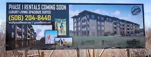 BRAND NEW LUXURY APARTMENTS - OPENING JULY 1ST!! PET FRIENDLY!