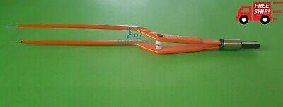 Non Stick Bayonet Bipolar Forcep Tip 1 Mm Lenght 20cm New Model Orange