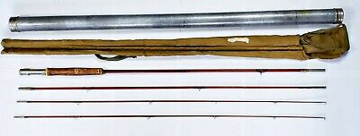 Goodwin Granger Co 9.5 Ft Victory 3/2 Bamboo Fly Rod In Aluminum Tube
