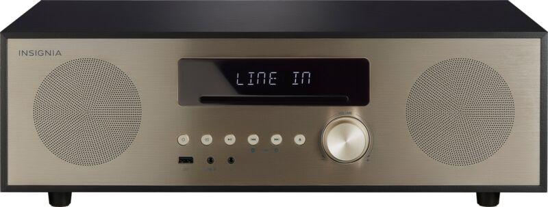 Insignia 80W Audio System Gold/black NS-HAIOR18