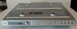 SONY ICF-CD553RM  Am/Fm Stereo Kitchen mount Clock Radio w/ Remote, and Mounts