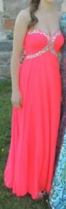 Size 2 prom dress from davids bridal