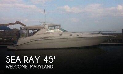 1996 Sea Ray 450 Sundancer Used
