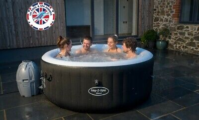 ***GRAB A BARGAIN*** Lay-Z-Spa 2-4 Person Inflatable Miami Hot Tub