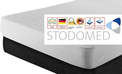 1 x STODOMED Inkontinenz Matratzenschutz Wasserdicht Schonbezug 90x200 - 100x200