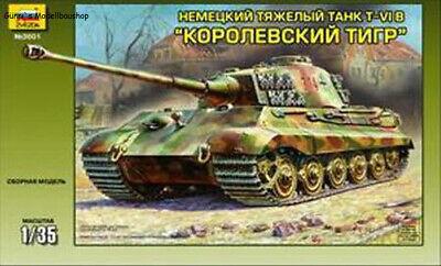 Zvezda 3601 - Königstiger Ausf. B Henschel Turret