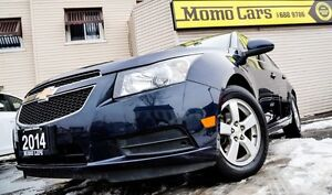 2014 Chevrolet Cruze 2LT! Htd Leather+Rear Cam! ONLY $107/bi-wee