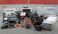 Service, vente, achat, maintenance sur génératrices