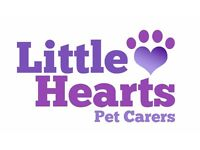 Little Hearts Pet Carers - Here to look after your pets!