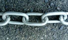 Securuty/lifting chain welded links,
