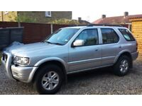 2003 VAUXHALL FRONTERA 2.2 DIESEL, SUPERB CONDITION, 1 YEAR MOT, S/HISTORY,A/C,110,000 MILES,