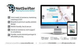 Bespoke website design with proven results || Wordpress developer, hosting, eCommerce, SEO, coach