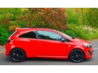 2014 64 reg corsa limited edition in BLOOD RED, low miles, 1 owner FIRST TO SEE WILL BUY