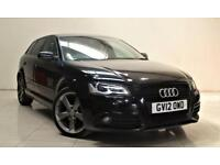 AUDI A3 2.0 SPORTBACK TDI S LINE BLACK EDITION 5d 138 BHP + TOP SPEC WITH ALL THE EXTRAS 2012