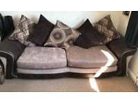 DFS 4 seater sofa/lounger