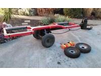 Car towing dolly trailer excellent condition