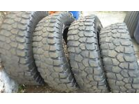 4 of BF Goodrich T/A Mud-Terrain tyres 245 70 R 17