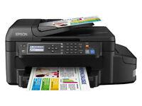 Epson EcoTank ET-4550 Multifunction Printer with Refillable Ink Tank - Black