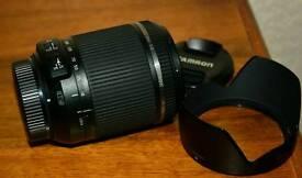Tamron 18-200mm f3.5-6.3 Di II VC Nikon lens