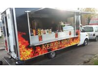 Catering Van, Succesful business for sale, Best pitch in town