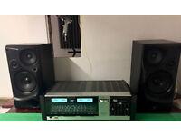 Vintage JVC JR S200L Stereo Receiver & Speakers