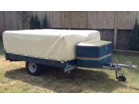 raclet acropolis 4 berth trailer tent selling as spares or repair bargain for someone