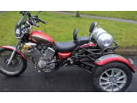 Yamaha Virago 535 Trike (Road Legal)