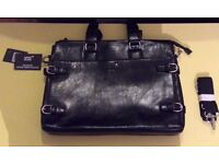 Montblanc Meisterstuck leather bag